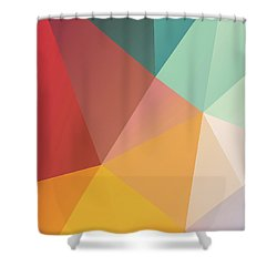 Geometric Xxix Shower Curtain
