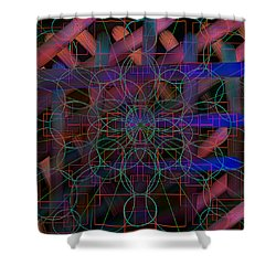 Geometrical-ii Shower Curtain