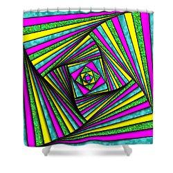 Geometry Art Shower Curtain