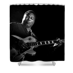 George Benson  Shower Curtain