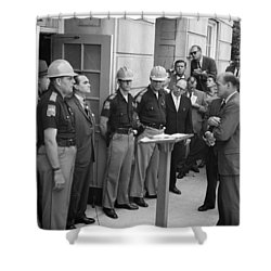 George C. Wallace Shower Curtain by Granger