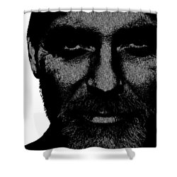 George Clooney 2 Shower Curtain by Emme Pons