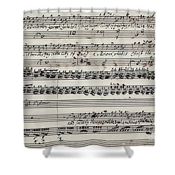 George Frederick Handel Shower Curtain by Granger