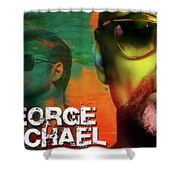 George Michael Shower Curtain