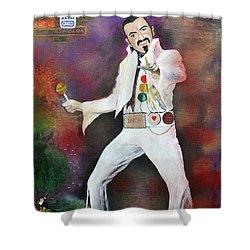 George Michael Gentlemen And Ladies Shower Curtain