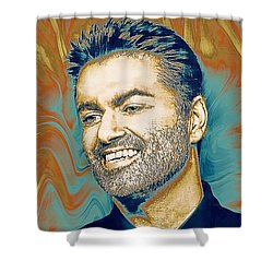 George Michael - Tribute  Shower Curtain