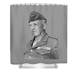 George S. Patton Shower Curtain by War Is Hell Store