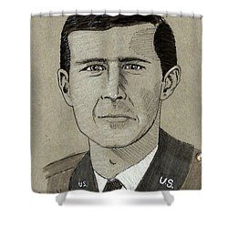George W. Bush Shower Curtain