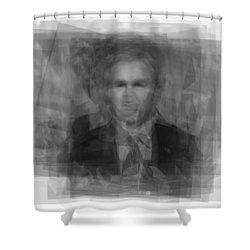 George W. Bush Shower Curtain by Steve Socha