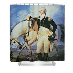 George Washington Shower Curtain by John Trumbull