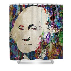 George Washington President Art Shower Curtain