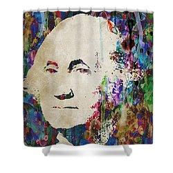 George Washington President Art Shower Curtain