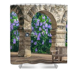Wisteria In Georgetown, Texas  Shower Curtain