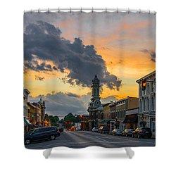 Georgetown Ky Summer Evening Shower Curtain