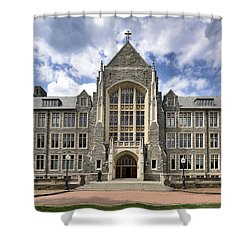 Georgetown University - White-gravenor Hall Shower Curtain