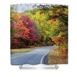 Georgia Scenic Byway Shower Curtain