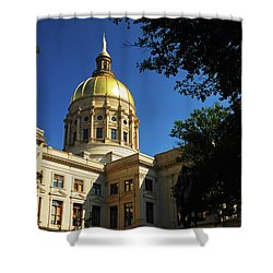 Georgia State Capitol Shower Curtain