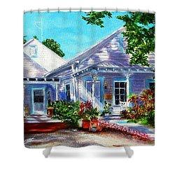 Georgia Street, Key West Shower Curtain
