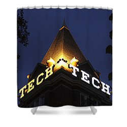 Georgia Tech Georgia Institute Of Technology Georgia Art Shower Curtain