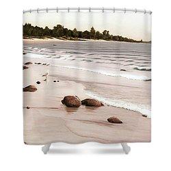 Georgian Bay Beach Shower Curtain