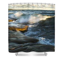 Georgian Bay Sunrise Shower Curtain