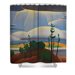 Georgian Shores Shower Curtain