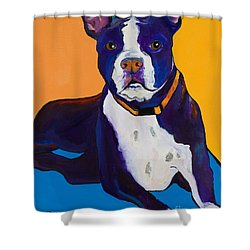 Georgie Shower Curtain by Pat Saunders-White