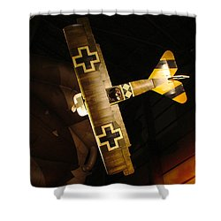 German Wwi Attack Shower Curtain by Tommy Anderson