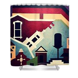 Germantown Nashville Shower Curtain
