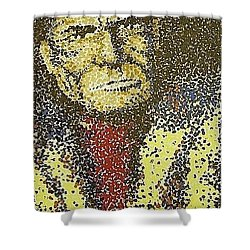 Geronimo Shower Curtain by Kevin Heaney