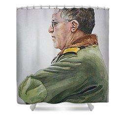 Gert Shower Curtain by Tim Johnson