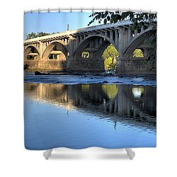 Gervais Street Bridge-1 Shower Curtain