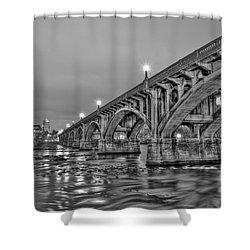 Gervais Street Bridge II Shower Curtain