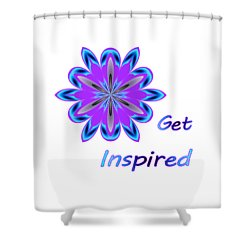 Get Inspired Shower Curtain
