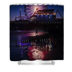 Shower Curtain featuring the photograph Get The Shot by Lora Lee Chapman