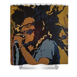 Get Up Stand Up Shower Curtain