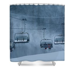Getting A Lift Shower Curtain