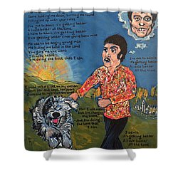 Getting Better Shower Curtain