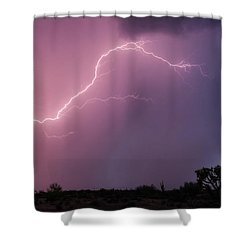 Getting Close Shower Curtain by Rick Furmanek