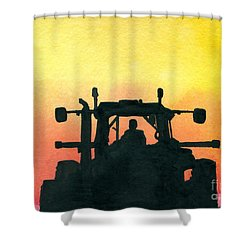 Getting It Done Shower Curtain
