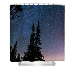 Shower Curtain featuring the photograph Getting Lost In A Night Sky by James BO Insogna