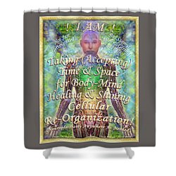 Getting Super Chart For Affirmation Visualization V2 Shower Curtain
