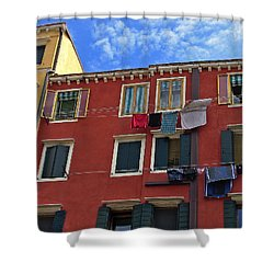 Shower Curtain featuring the photograph Getting To Know You by Lynda Lehmann