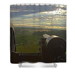 Gettysburg Canon Shower Curtain