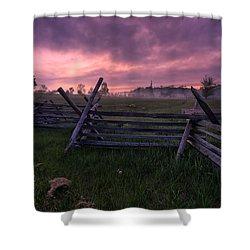 Gettysburg Mornings... Shower Curtain