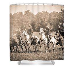 Gettysburg  Union Cavalry 7901s  Shower Curtain