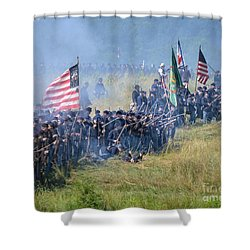 Gettysburg Union Infantry 8948c Shower Curtain