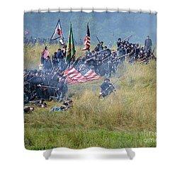Gettysburg Union Infantry 8963c Shower Curtain