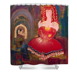 Ghismonda Shower Curtain