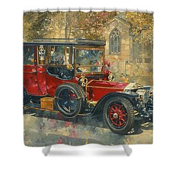 Ghost - Hawton Shower Curtain by Peter Miller